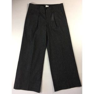 Banana Republic pleated wide leg gray pants 4732